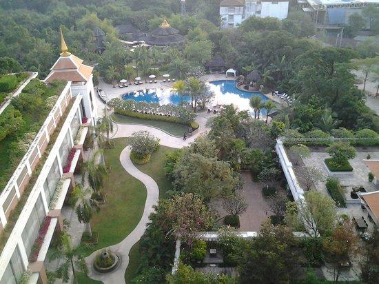 Shangri-La Hotel, Chiang Mai : Aranda Suite Ausblick