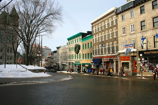 Old Quebec : Center of town