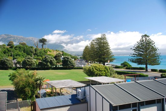 Kaikoura Apartments: view from No.12 balcony