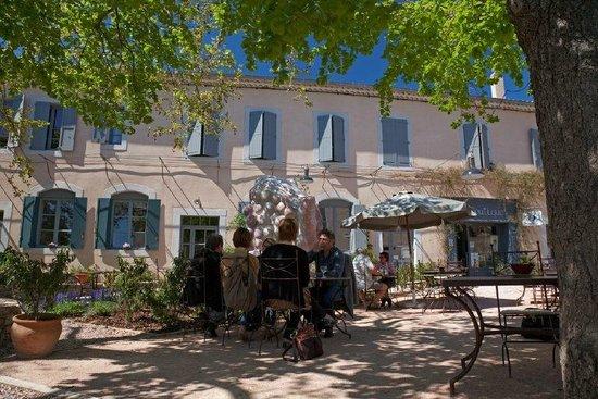 Hotel La Marbrerie: Jardin