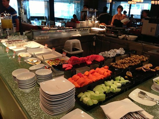 Novotel Bangkok on Siam Square: Breakfast buffet