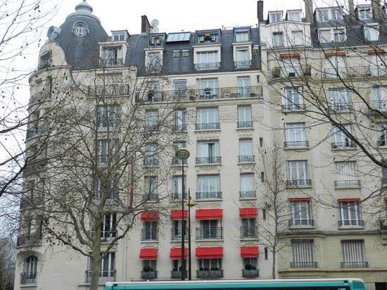 Hotel de Banville: Hotel Front