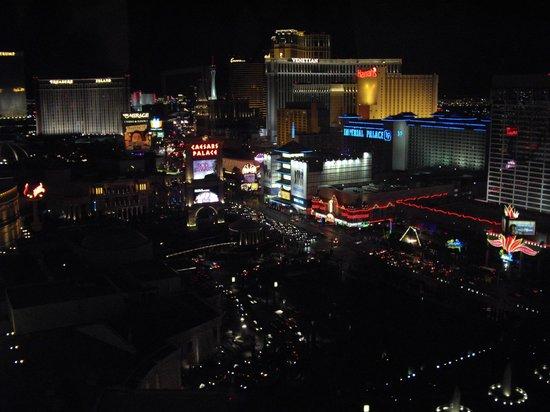 Caesars Palace: Overlooking Vegas