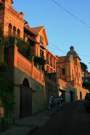 La Maison Gallieni : vue dela rue