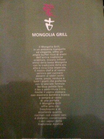 MONGOLIA GRILL : le regole