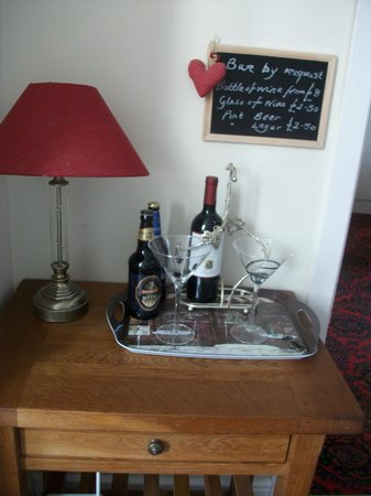 SeaBanks B&B: Enjoy a relaxing drink