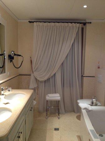Villa Contarini Nenzi Hotel: Ванная в номере