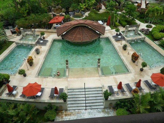 The Royal Corin Thermal Water Spa & Resort: Pool View from Suite