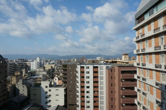Hotel Monterey Kyoto: View from room