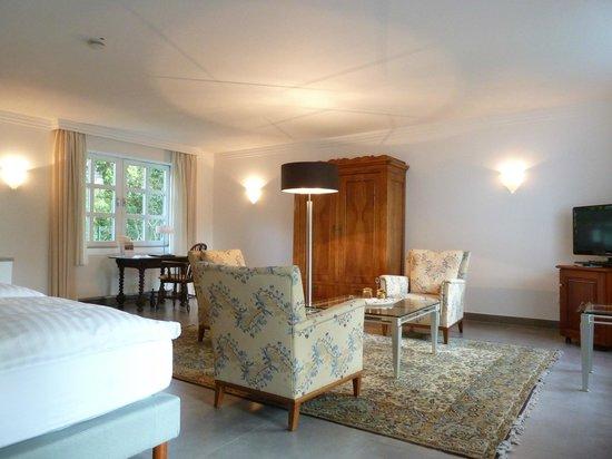 Romantik Waldhotel Mangold : Deluxedoppelzimmer