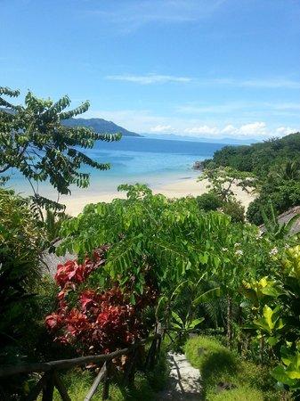 Tsara Komba Luxury Beach Forest Lodge: Tsara komba view from dining room