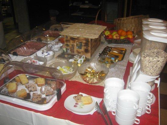 Hotel Seestuben: buffet prima colazione