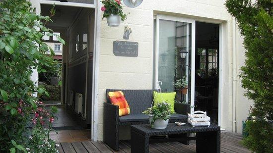 Villa les Roses: la terrasse