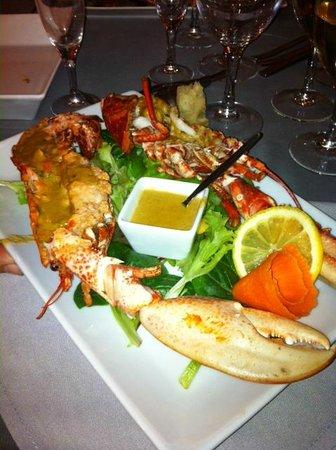 Hotel La Maison sur l'Eau : Mon repas....