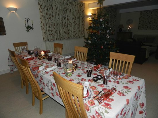The Old School Bed and Breakfast: Ready for the Christmas feast