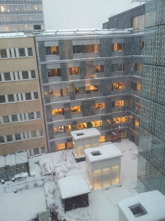Hotel C Stockholm: View from our room on the 7th floor