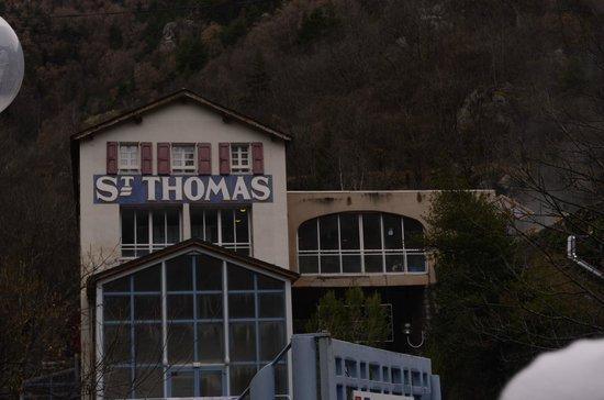 Bains de Saint Thomas au Plancton: Entrée bains st thomas