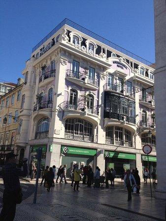 Internacional Design Hotel: Здание отеля
