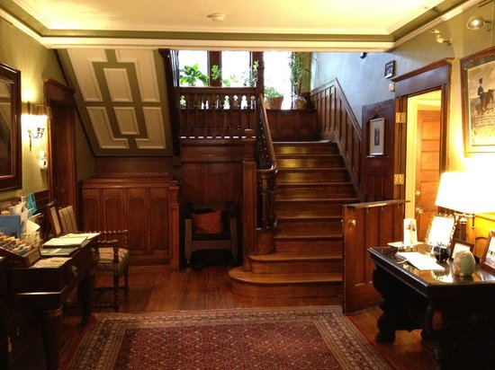 The Bertram Inn: Stairs from the front hall