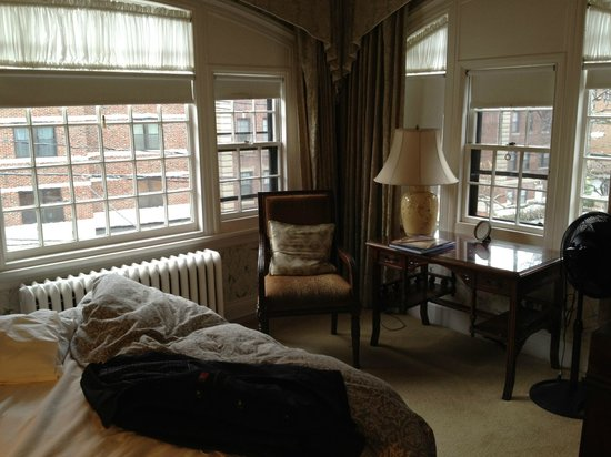 The Bertram Inn: A second floor corner bedroom