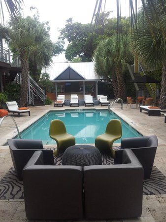 Truman Hotel: The hotel yard