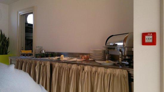 Agriturismo Ca' Beatrice: Sala colazione, zona salata