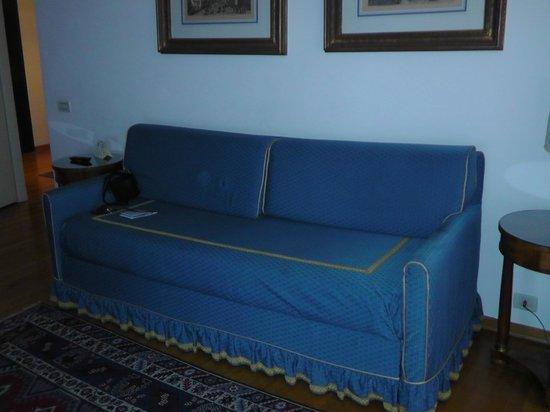 San Marco Palace Suites: canapé dans salon
