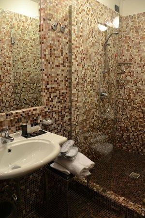River Hotel Firenze: Bagno