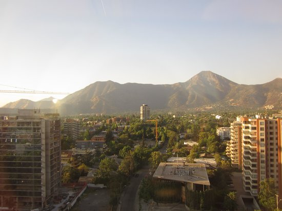 Santiago Marriott Hotel: A view from the room