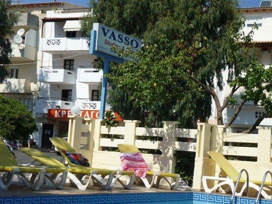 Simple Hotel Hersonissos Sun: Hotel Vasso!!!