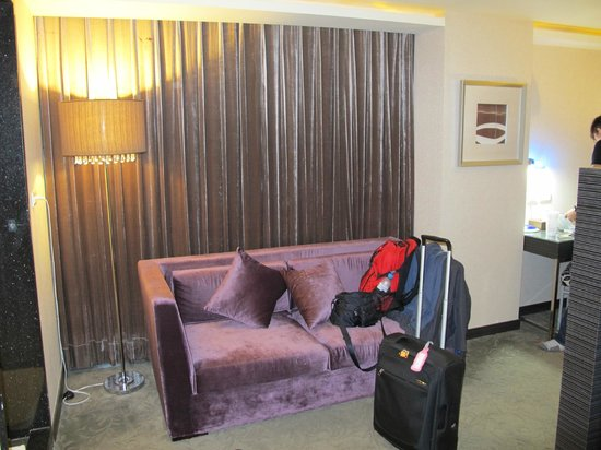Byeyer Hotel: Purple Couch