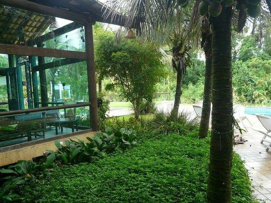 Pousada Aguas de Paratii: Vista da varanda do quarto