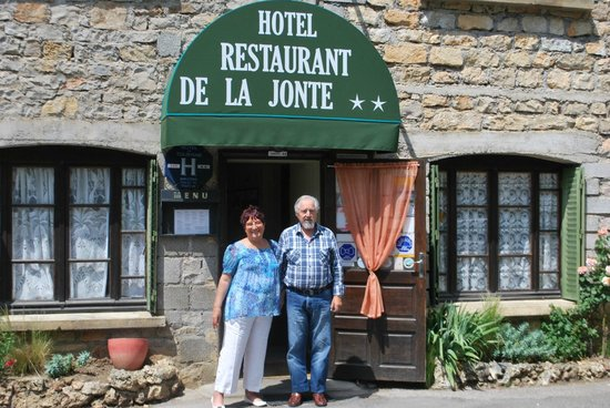 Meyrueis, Frankrike: Entrée du restaurant