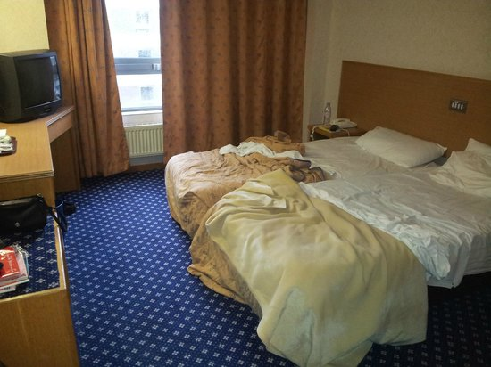 Royal National Hotel: notre chambre