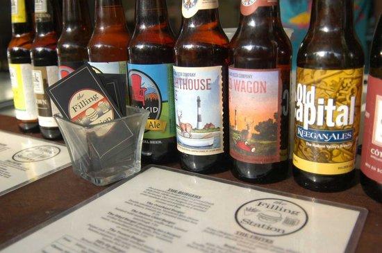 The Filling Station: Filling Station Beer Selection
