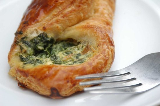 The Filling Station: Spinach Pastry