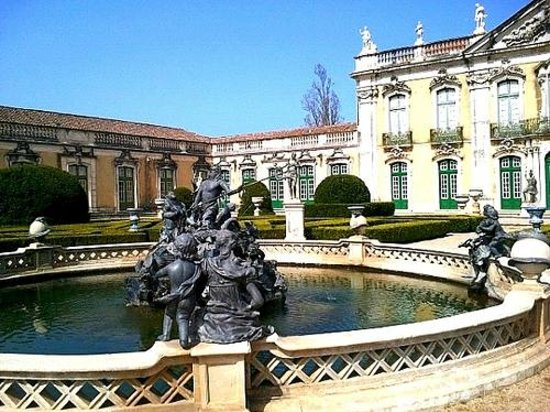Lisbon Guided Tours: Gardens at Queluz Palace, Lisbon