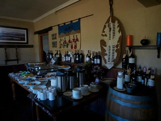 Sani Mountain Lodge breakfast buffet