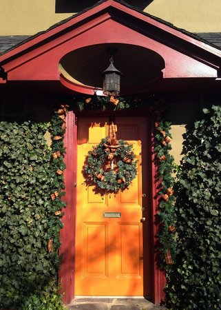 The Lancaster Bed and Breakfast : The Front Door for the Holidays