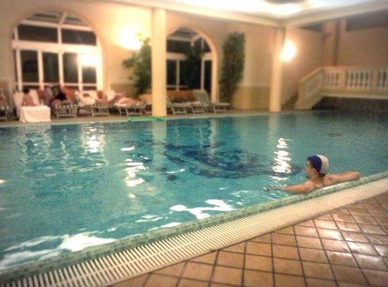 Hotel Terme Roma : piscina interna