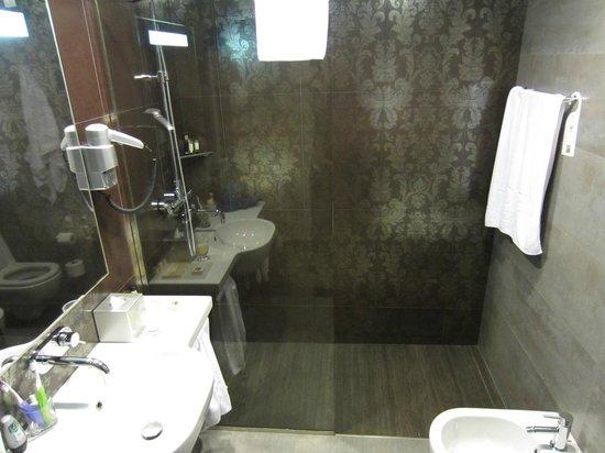 โรงแรมพาลาซโซซิชชี: Bathroom