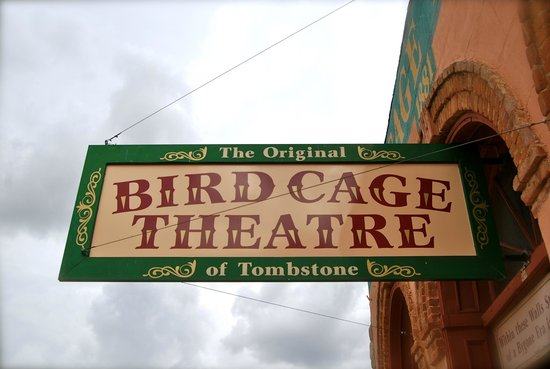 Bird Cage Theatre: Located on the southernmost of Allen St.