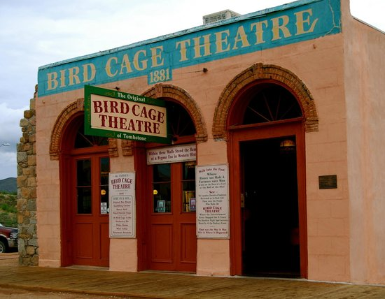 Bird Cage Theatre: Known for excessive paranormal activity