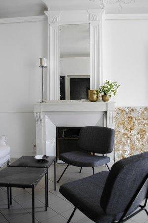 """Maison d'Hotes """"La Galerie"""" : SALON"""