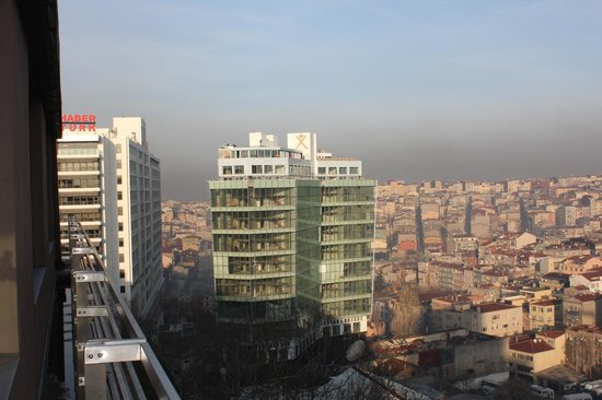 Point Hotel Taksim: view from the restuarant