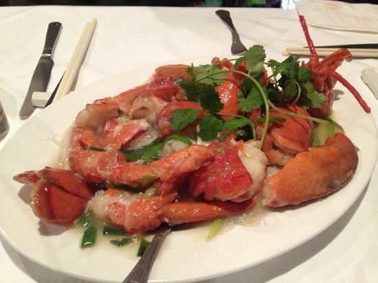 Mandarin Kitchen: Lobster Rice Noodles