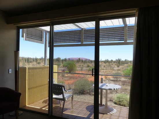 Desert Gardens Hotel, Ayers Rock Resort: view from our room