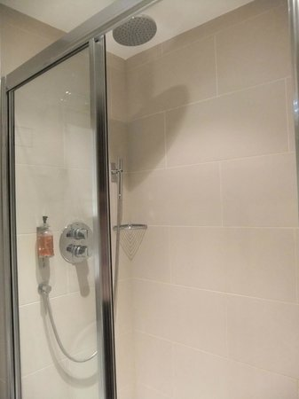 BEST WESTERN Seraphine Kensington Gardens Hotel: Great Shower!