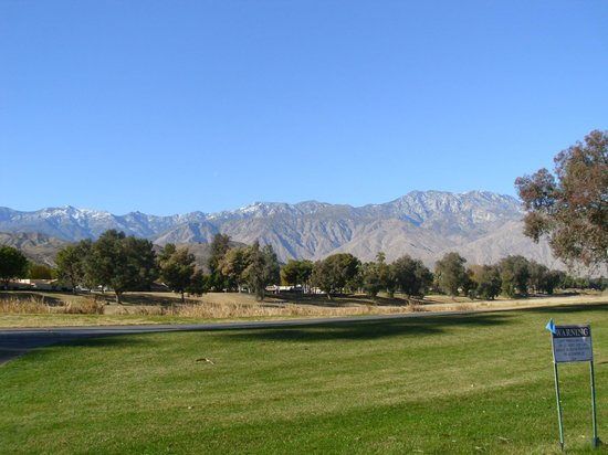 Welk Resorts Palm Springs: Golf Course View