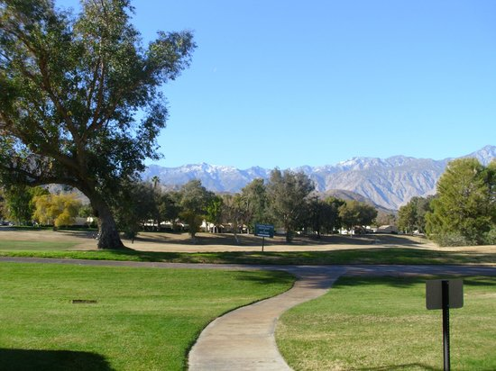 Welk Resort Palm Springs - Desert Oasis: Golf course View